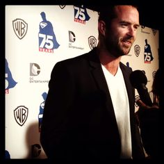 Our #300Movie: Rise of an Empire star, Sullivan Stapleton at the Superman 75th #SDCC