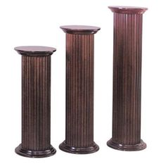 Have to have it. Round Fluted Cherry Pedestal $278