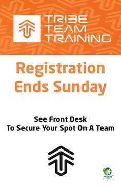 Registration Ends this Sunday, September 21st. Sign up at the Front desk at Nelson Road or call 306-975-1003 ext. 1100