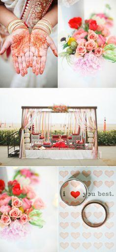Santa Monica Wedding from Max Wanger + Margaux Elliott | Style Me Pretty