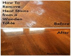 14 Clever Deep Cleaning Tips & Tricks Every Clean Freak Needs To Know Deep Cleaning Tips, House Cleaning Tips, Cleaning Solutions, Spring Cleaning, Cleaning Hacks, Cleaning Products, Diy Hacks, Wooden Table Top, A Table
