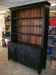 Reclaimed Wood & Barnwood Furniture - Gorgeous if I could make something like it!