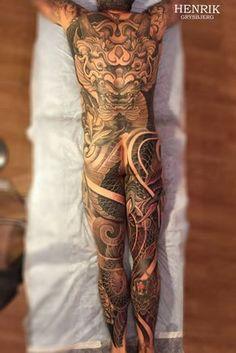 Portfolio Henrik / Galerie Tattoo