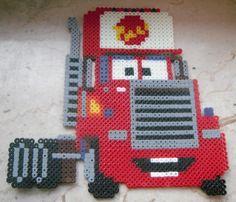 Mack - Cars hama beads (3 pegboards) by baertuktuk
