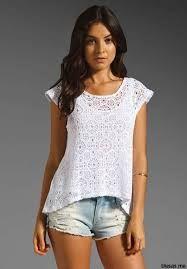 blusas juveniles de moda transparentes , Buscar con Google