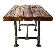 SALVAGE Dining Table (Available In Bar Height). This Could Be The Long  Tables