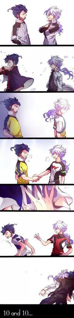 Tsurugi & Hakuryuu  | ;A; sooo cuuute. this is their relationship! |