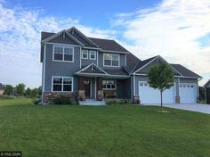 Custom built with lots of extras. Knotty alder cabinetry, granite countertops, stainless steel appliances, double ovens, beverage refrigerator in the island, master suite, walk-in shower, soaking tub, jack & jill bath, upper level bedrooms, loft and laundry. 14x14 screened porch with tongue and groove knotty pine ceiling and ceramic tile flooring. Mudroom with large bench and hooks. Oversized insulated garage.