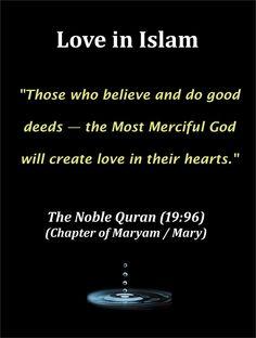 Prophet Muhammad Islamic poster - Love in Islam