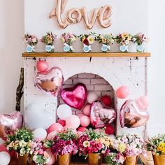 Are you going to have a party on Valentine's Day? if yup, here are Valentine's Party Decorations Ideas for you. Almost inseparable colors for parties on Valentine&… Valentines Day Decorations, Valentines Day Party, Be My Valentine, Birthday Decorations, Valentine Baby Shower, Balloon Decorations, Diy Engagement Decorations, Romantic Valentines Day Ideas, Balloon Arrangements