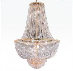 Event Prop Hire: Crystal Chandelier