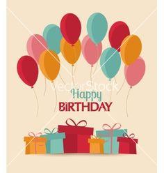 Happy birthday vector - by odina222 on VectorStock®