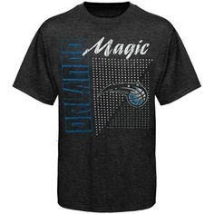 Sportiqe Orlando Magic Comfy Tubbs Tri-Blend Premium T-shirt - Charcoal