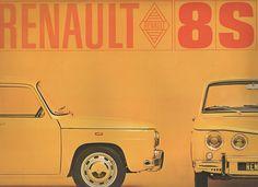 Dépliant Renault 8S R8S