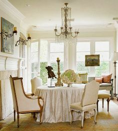 Simple and very beautiful dining-drawing  room in neutral color