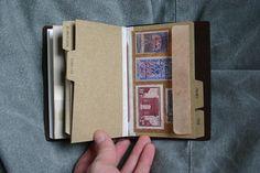 Midori Travelers Notebook. Envelope