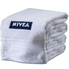 NIVEA Guest towel. #towel #handtuch #gästehandtuch #nivea