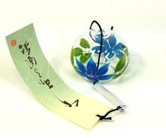 くりすたる風鈴 蒔絵仕上げ 鉄仙 R-03 会津喜多方オリジナル(手づくり、手描き品)【楽天市場】