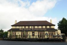 The Good Companions, in Hamsey Green Thornton Heath, Croydon, Good Old, Old Things, Childhood, Shops, Mansions, House Styles, Building
