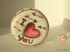 gift Yo-Yo regalo per innamorati di trattoPi su Etsy