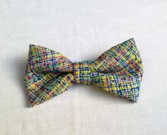Womens bow tie multicolored  handmade bow tie  by KristineBridal, $28.37