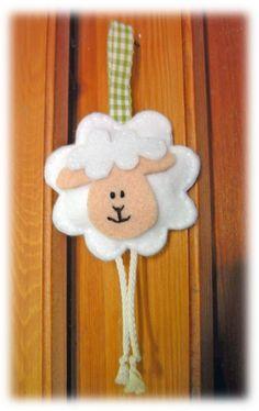 Promozione Primavera pecore, agnello húvéti :), decorazioni, giochi, Pasqua Treats, festosa decorazione, ricamo, cucito, Meska