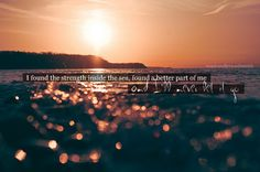 Sunrise swims in the ocean. The best way to start a summer day! Goals Tumblr, Sweet Words, Favim, God Is Good, Lyric Quotes, Bokeh, Pretty Pictures, The Great Outdoors, Sunrise
