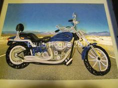 Marks Harley quilled 001