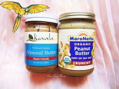 kevala almond butter maranatha peanut butter