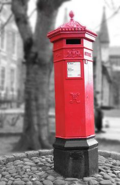Crooked Post Box