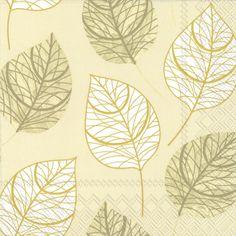 The Leaf Like Cream modern style fall paper napkins feature a modern design leaf pattern in  sc 1 st  Pinterest & Plates | Wedding details | Pinterest