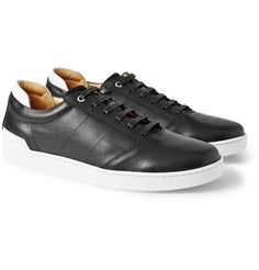 WANT Les Essentiels de la VieLennon Leather and Mesh Sneakers