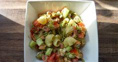 De la gourmandise à tous les étages!: Salade de pâtes citronnée aux crevettes - Weight Watchers Propoint