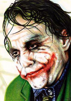 The Joker Ω Trev Murphy Joker Pics, Joker Art, The Man Who Laughs, Heath Ledger Joker, The Dark Knight Trilogy, Batman Artwork, Send In The Clowns, Superhero Villains, Joker Wallpapers