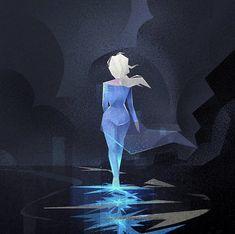 Elsa in Frozen Frozen Fan Art, Frozen And Tangled, Disney Princess Frozen, Elsa Frozen, Frozen Wallpaper, Disney Wallpaper, Disney Crossovers, Disney Movies, Disney And Dreamworks
