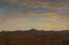 """""""Study for Catskill Creek"""" by Thomas Cole"""