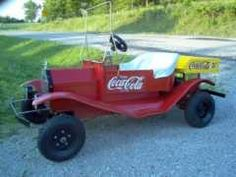 ATVs : Sharp 1/2 scale replica Ford Model T Coca Cola gocart FOLLOW THIS BOARD FOR GREAT COKE OR ANY OF OUR OTHER COCA COLA BOARDS. WE HAVE A FEW SEPERATED BY THINGS LIKE CANS, BOTTLES, ADS. AND MORE...CHECK 'EM OUT!! Anthony Contorno Sr