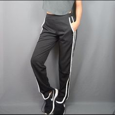 Black Highwaisted Sport Workout Pocket Pants Sizes available: S  Bundle 2 items and get an automatic 15% Off!  Note: new! Stretchy waist  < I guarantee the style is the same as shown in the pictures, but not the same performance on different bodies as on the model. Thank you! >  ❥Offers are welcome :3 ❥Will ship next day Mon-Fri :] ❥Not trading at the moment sorry :[ ❥No Holds sorry :( ❥All sales are final, please ask before you buy and know that I will always do my best and WILL BE TRUTHFUL…