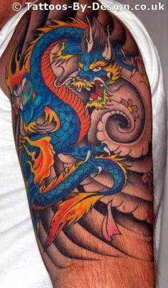 Tattoos on Sunday: japanese dragon tattoo designs