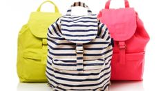 Backpack by Baggu by Stripped perfect for carrying lenses & cameras to a shoot
