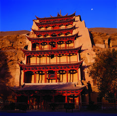 The Mogao Caves in Dunhuang contain ancient #Buddhist art and murals, which can now be viewed in a 3D multimedia installation!  #travel #china #silkroad #wanderlust #travelling #tourism
