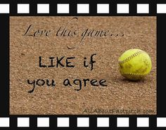 Fastpitch Quotes And Sayings | posted this softball photo to the AAF Facebook Fanpage Friday ...