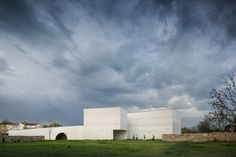 Completed in 2015 in Chaves, Portugal. Images by Fernando Guerra | FG+SG. The Nadir Afonso Foundation is located on the right bank of Tâmega river in Chaves, on land that is covered by the Polis Program. The design, without...
