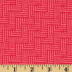 Michael Miller Just My Type Crossgrain Red from @fabricdotcom  Designed by Patty Young for Michael Miller, this cotton print is perfect for quilting, apparel, crafts, and home décor projects.