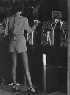 Preach. Photo by Lisette Model - Reno, Nevada 1949. S)