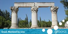 Greece Travel Guide: 28 popular mainland destinations to visit. Every travel guide proposes photos, general info, maps, hotels and more.