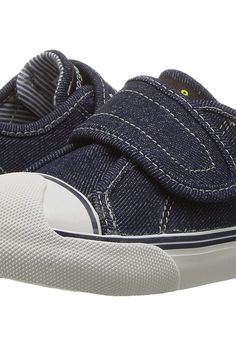 Morgan&Milo Kids Harper One Strap (Toddler/Little Kid) (Denim) Boys Shoes - Morgan&Milo Kids, Harper One Strap (Toddler/Little Kid), MB2255CV-475, Footwear Closed Hook and Loop, Hook and Loop, Closed Footwear, Footwear, Shoes, Gift, - Fashion Ideas To Inspire
