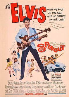 """Spinout"" (1966) Stars: Elvis Presley, Shelley Fabares, Diane McBain, Dodie Marshall, Deborah Walley, Jack Mullaney, Jimmy Hawkins, Cecil Kellaway ~ Director: Norman Taurog"