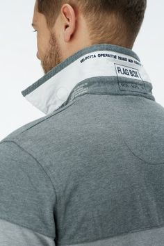POLO M.C. Polo Fashion, Mens Fashion, Polo Rugby Shirt, Men's Collection, Mens Clothing Styles, Fashion Details, Textiles, Mens Tees, Menswear