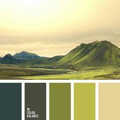 wild life palette
